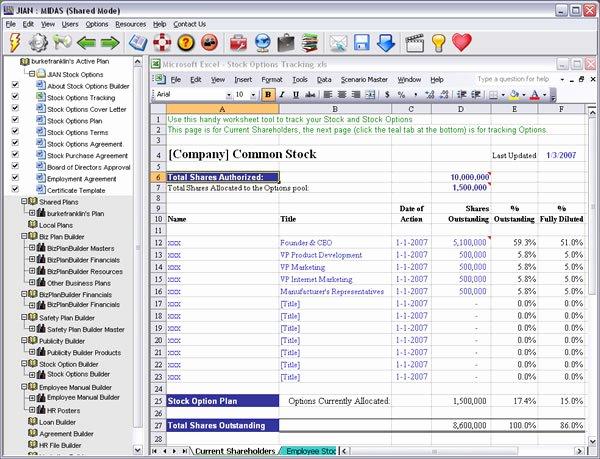 Employee Stock Option Plan Template Elegant Employee Stock Options