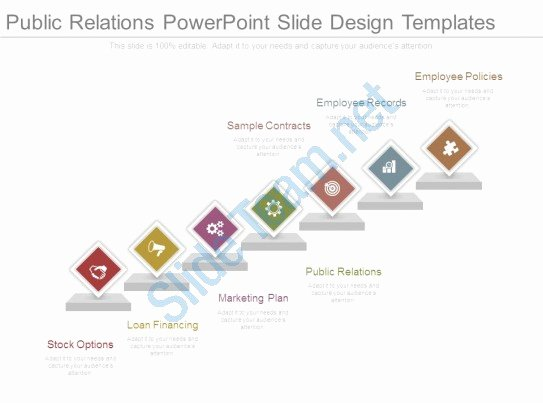 Employee Stock Option Plan Template Inspirational Public Relations Powerpoint Slide Design Templates