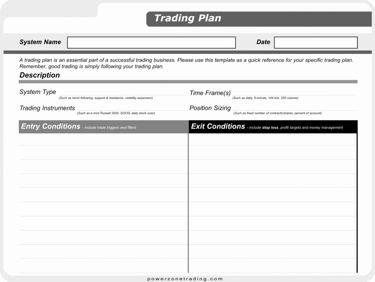 Employee Stock Option Plan Template Luxury Post How to Start Trading Trading Plan Development In