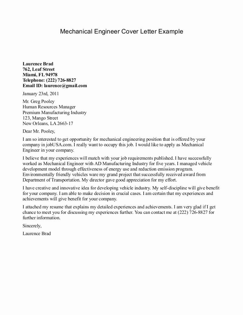 Engineering Cover Letter format Beautiful Pin by Job Resume On Job Resume Samples