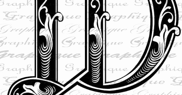 Engraving Templates Letters Awesome Letter Initial W Monogram Old Engraving Style Type by