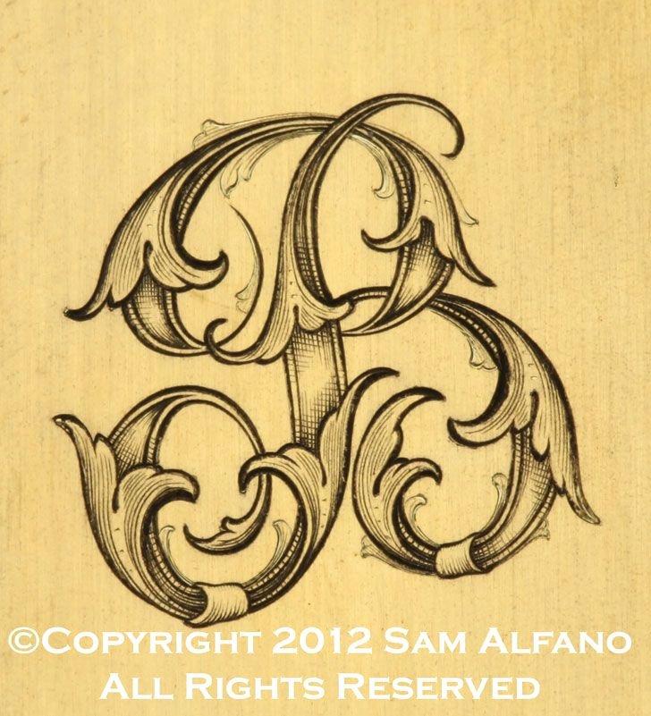 Engraving Templates Letters Beautiful Sam Alfano Engraver Miscellaneous Engraving