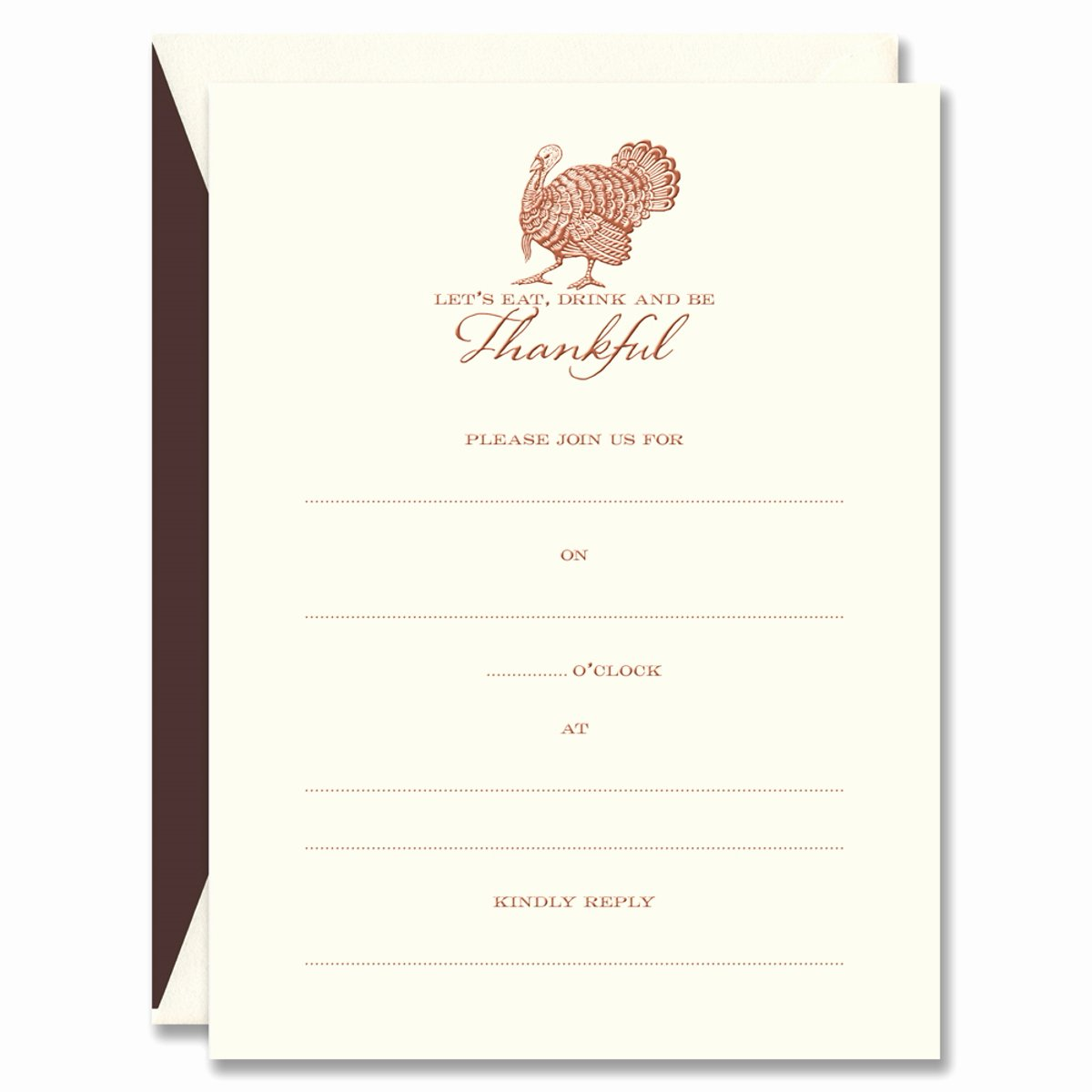 Engraving Templates Letters Inspirational Turkey Invitation Card Template with Engraved Letter