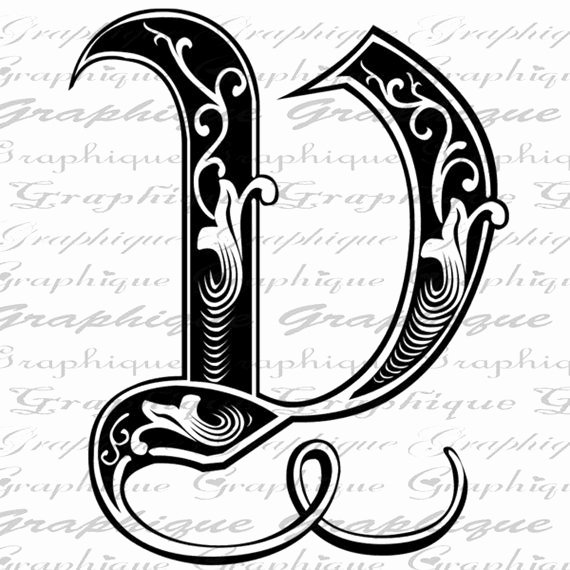 Engraving Templates Letters Lovely Letter Initial V Monogram Old Engraving Style Type by