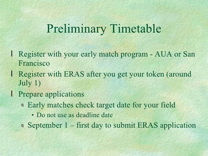 Eras Letter Of Recommendation Deadline Luxury Residency Application Process