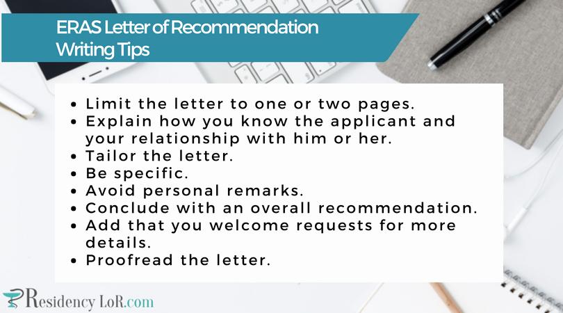 Eras Letter Of Recommendation Elegant Writing A Great Eras Letter Of Re Mendation