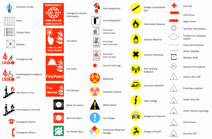 Evacuation Floor Plan Template Best Of Evacuation Floor Plan Symbols