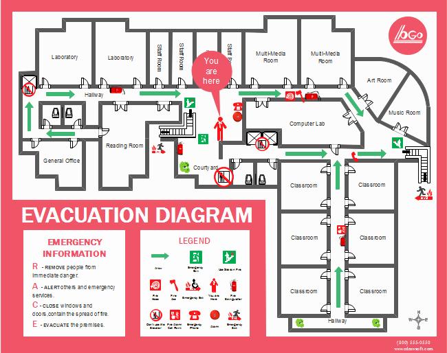 Evacuation Floor Plan Template Elegant Floor Plan Examples
