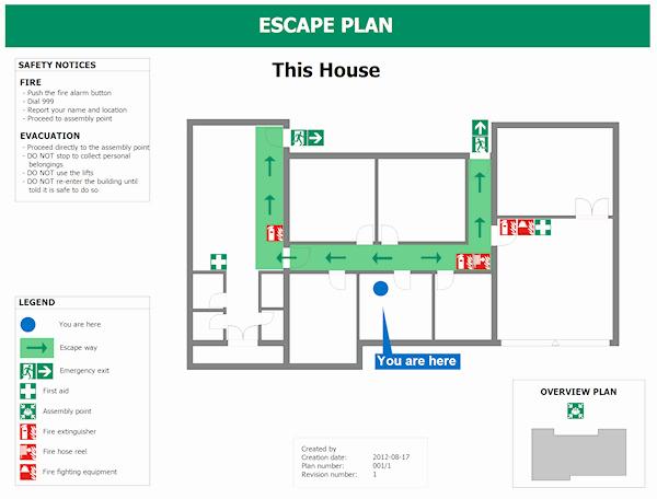 Evacuation Floor Plan Template Lovely Emergency Evacuation Floor Plan Sample