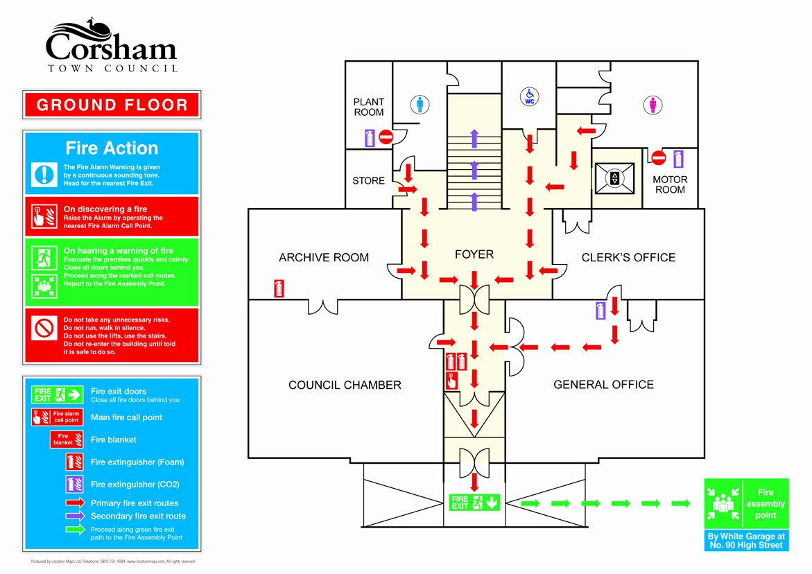 Evacuation Floor Plan Template New Fire Evacuation Plans Fire Escape Plans and Fire assembly