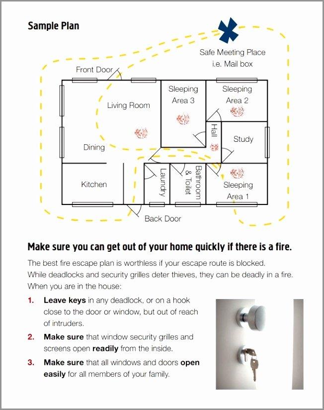 Evacuation Floor Plan Template Unique 12 Home Fire Evacuation Plan Template Ierde