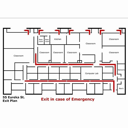 Evacuation Floor Plan Template Unique Red Evacuation Map Rs 3000 Piece S Subham Safety House