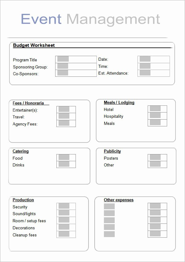 Event Planning Business Plan Template New 10 Sample event Planning Templates – Pdf Ppt Doc