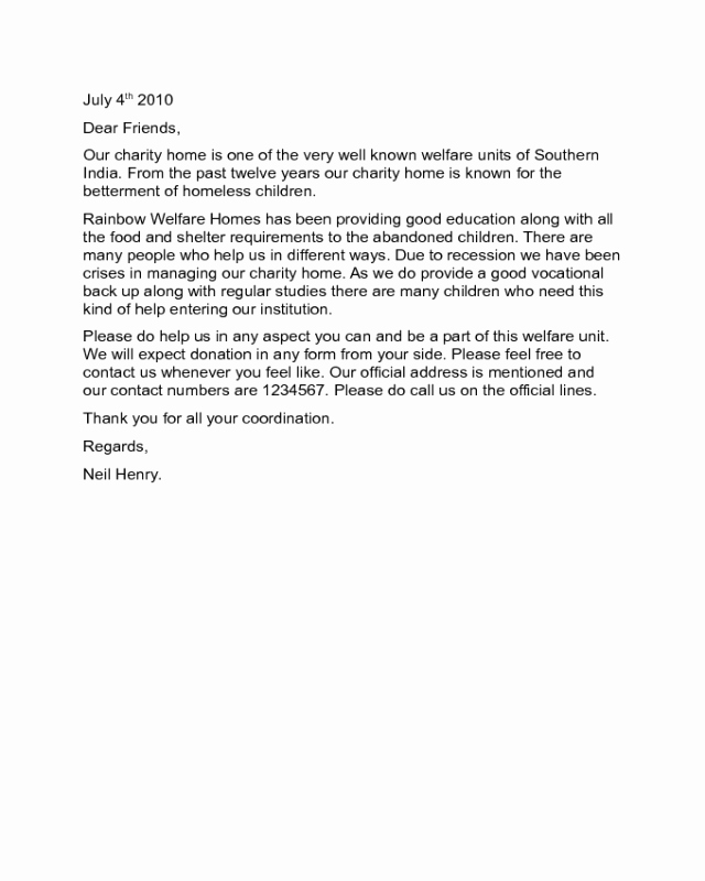 Examples Of Mission Trip Fundraising Letters New 2019 Fundraising Letter Templates Fillable Printable