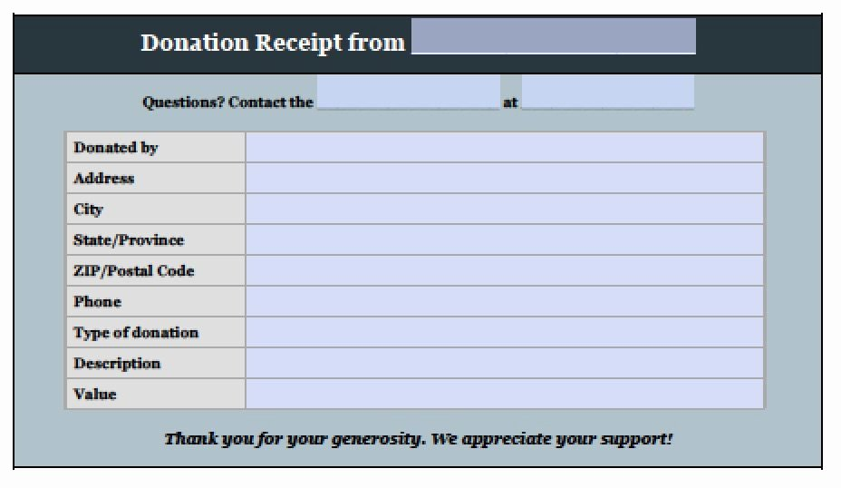 Excel Donation List Template Best Of Free Donation Invoice Template Receipt Pdf Word