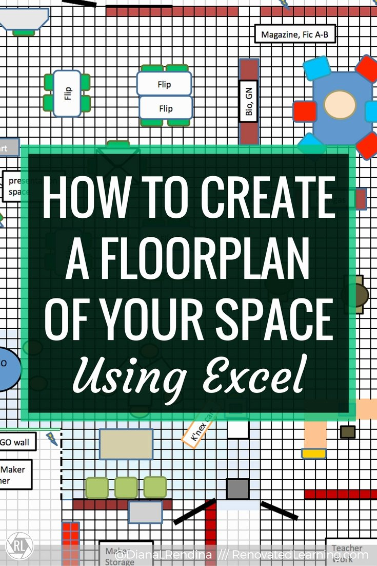 Excel Floor Plan Template Fresh How to Create A Floorplan Of Your Space In Excel
