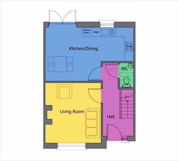 Excel Floor Plan Template Fresh Powerpoint Floor Plan Template Bountrfo