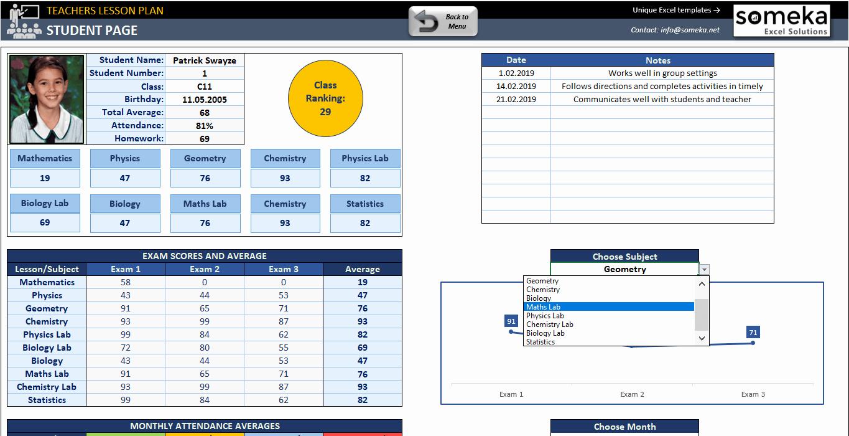 Excel Lesson Plan Template Beautiful Teacher Lesson Plan Template Free Lesson Plan for