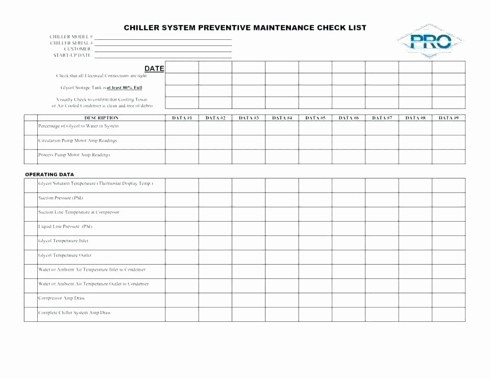 Facility Maintenance Plan Template Inspirational It Maintenance Plan Template Building Maintenance Plan