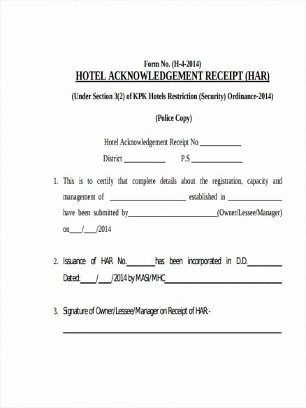 Fake Hotel Receipt Template Luxury Hotel Receipts Template Letter Examples Fake Sample