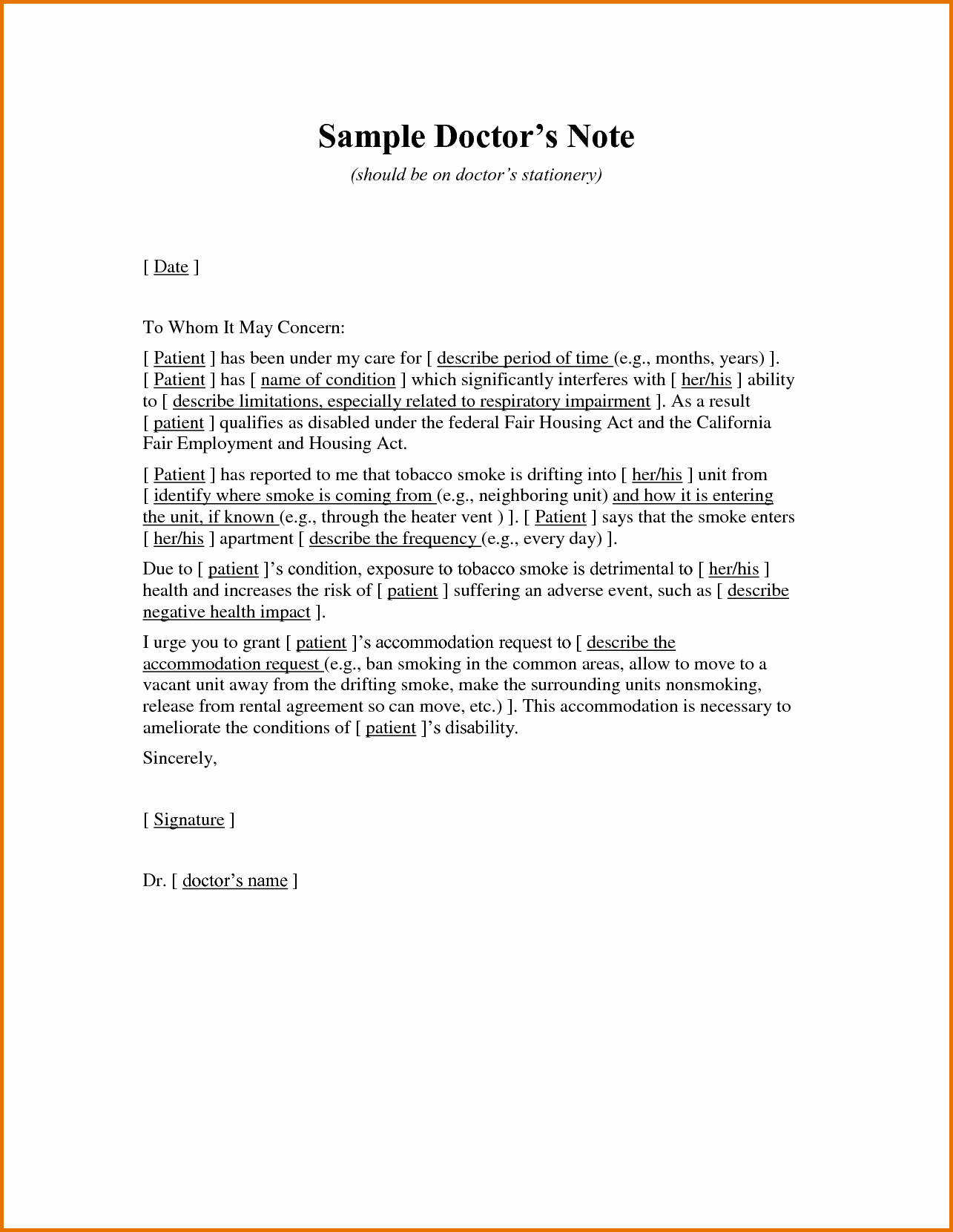 Fake Letter Of Recommendation Elegant 5 Fake Dr Notereference Letters Words