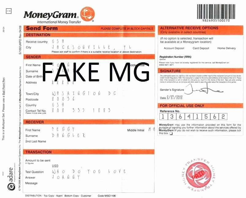 Fake Money order Receipt Best Of 20 Free Moneygram Receipt Free