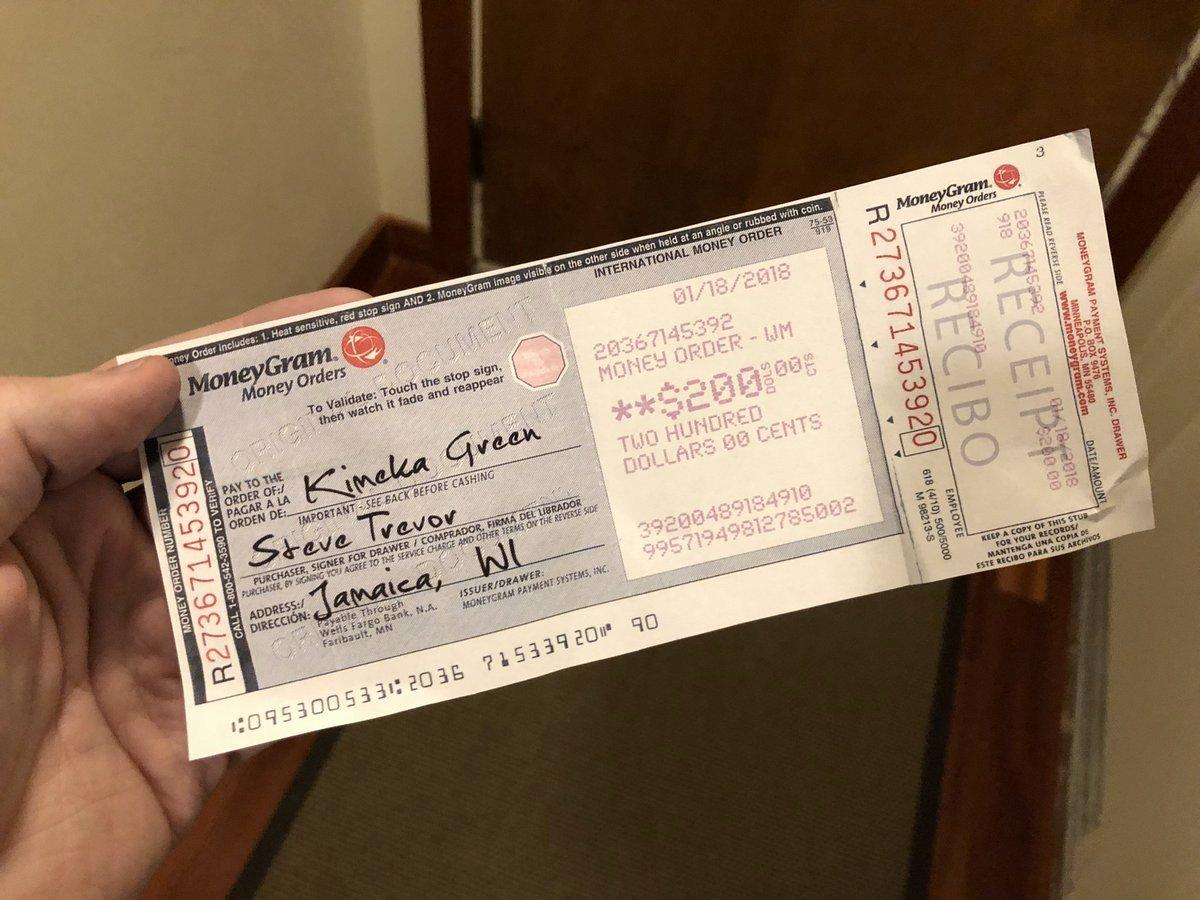 """Fake Money order Receipt Elegant Thread by Derekakessler """" the Phone with Scammers"""