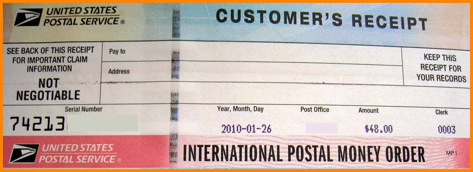 Fake Money order Receipt Template Lovely 18 Fake Money order Template