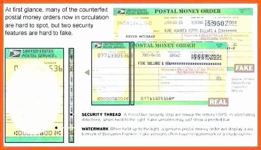 Fake Money order Receipt Template Unique Fake Money order Template Counterfeit Blank Templates for