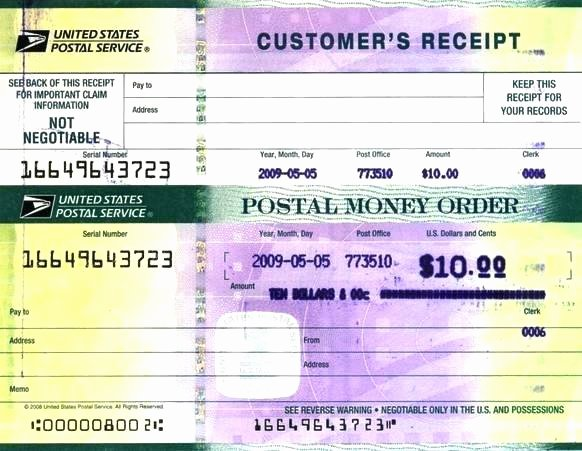 Fake Money order Template Awesome Money order Receipt Fake Money order Receipt Money order