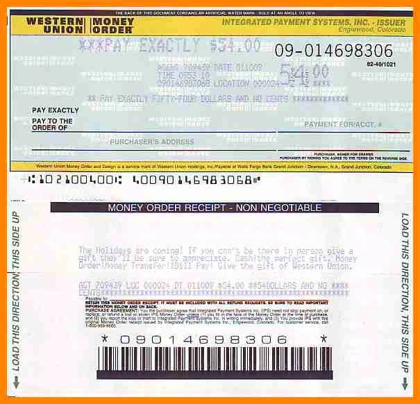 Fake Money order Template Awesome Money order Template