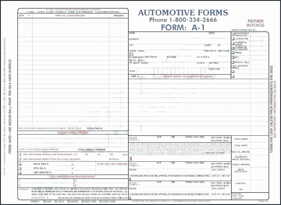 Fake Oil Change Receipts Awesome form Invoice Template Lease Invoice Templates Free Word