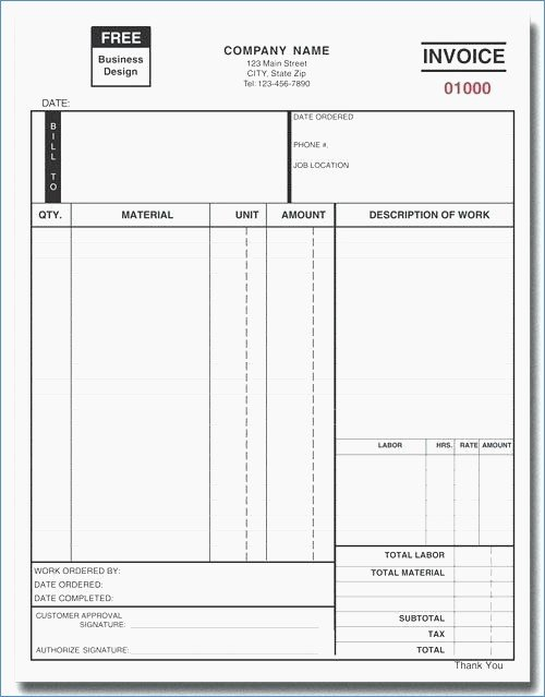 Fake Oil Change Receipts New Oil Change Invoice Template Denryokufo