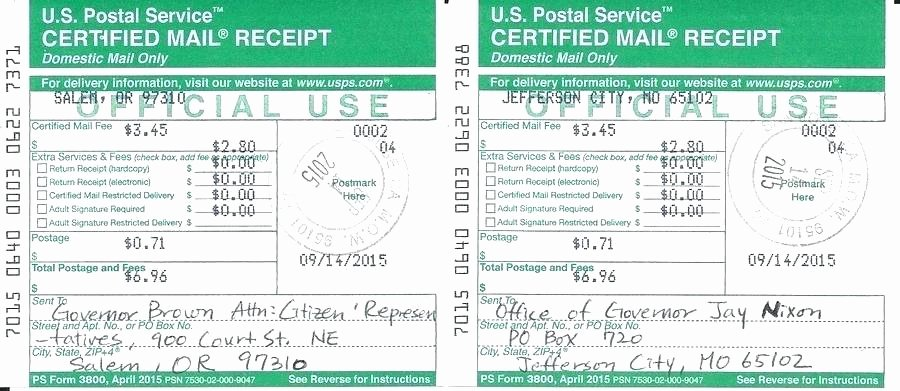 Fake Oil Change Receipts Unique How to Send Certified Mail Return Receipt Requested