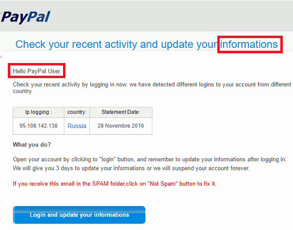 Fake Paypal Payment Generator Elegant Phishing is Still Mon See How to Spot A Fake Email