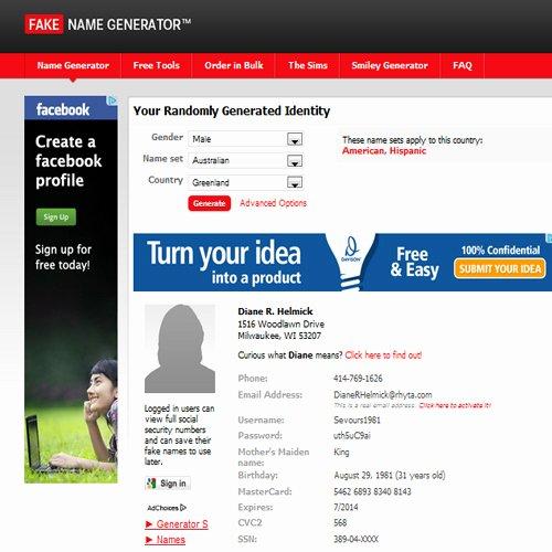 Fake Paypal Payment Generator Lovely Fake Name Generator Myanmar Line User Club Website