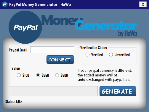 Fake Paypal Payment Generator Luxury Paypal Money Generator 2016 Bot World