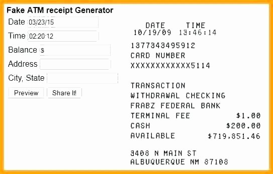 Fake Paypal Receipt Generator Best Of Generate Fake Receipt Free Invoice Template Free Receipt