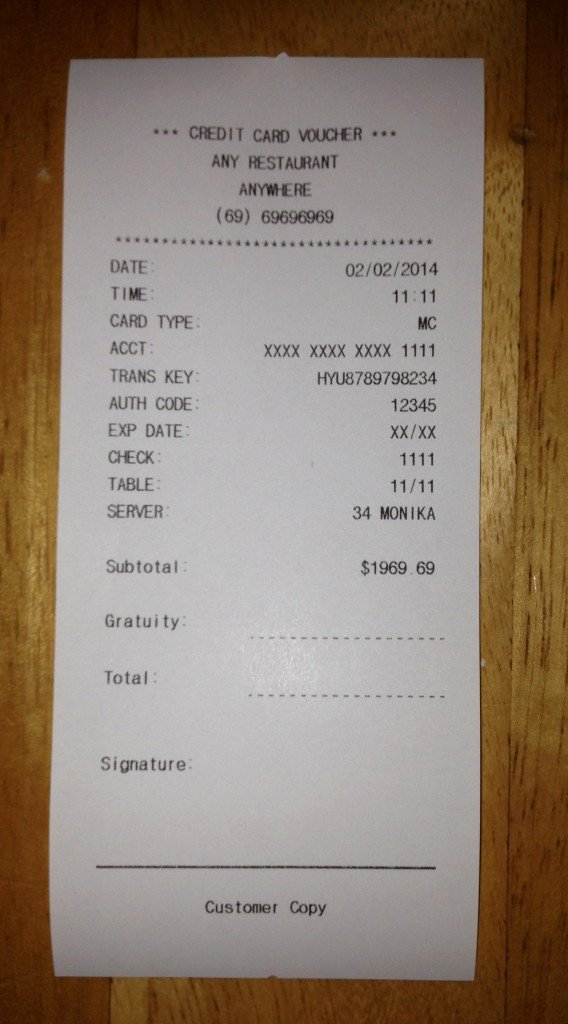 Fake Receipt Generator Download Awesome Fake Receipt Templates Free Receipt Templates