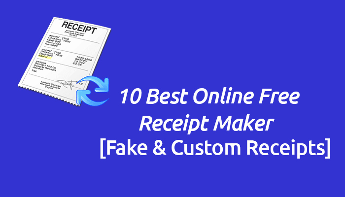Fake Receipt Generator Download Unique 10 Line Free Receipt Maker tools 2017 [fake & Custom