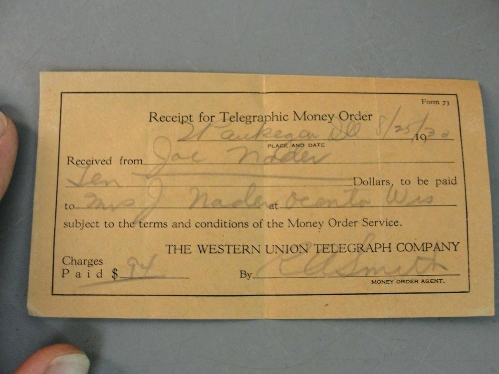 Fake Western Union Receipt Elegant Money order Receipt Fake Money order Receipt Money order
