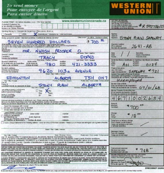 Fake Western Union Receipt Fresh Western Union Money order Customer Request form