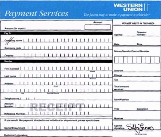 Fake Western Union Receipt Generator Beautiful Western Union Receipts
