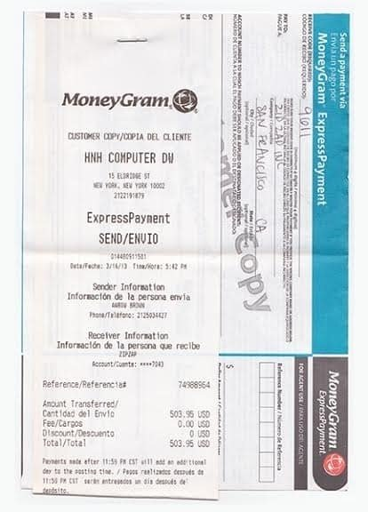 Fake Western Union Receipt Generator New 15 Fake Moneygram Receipt