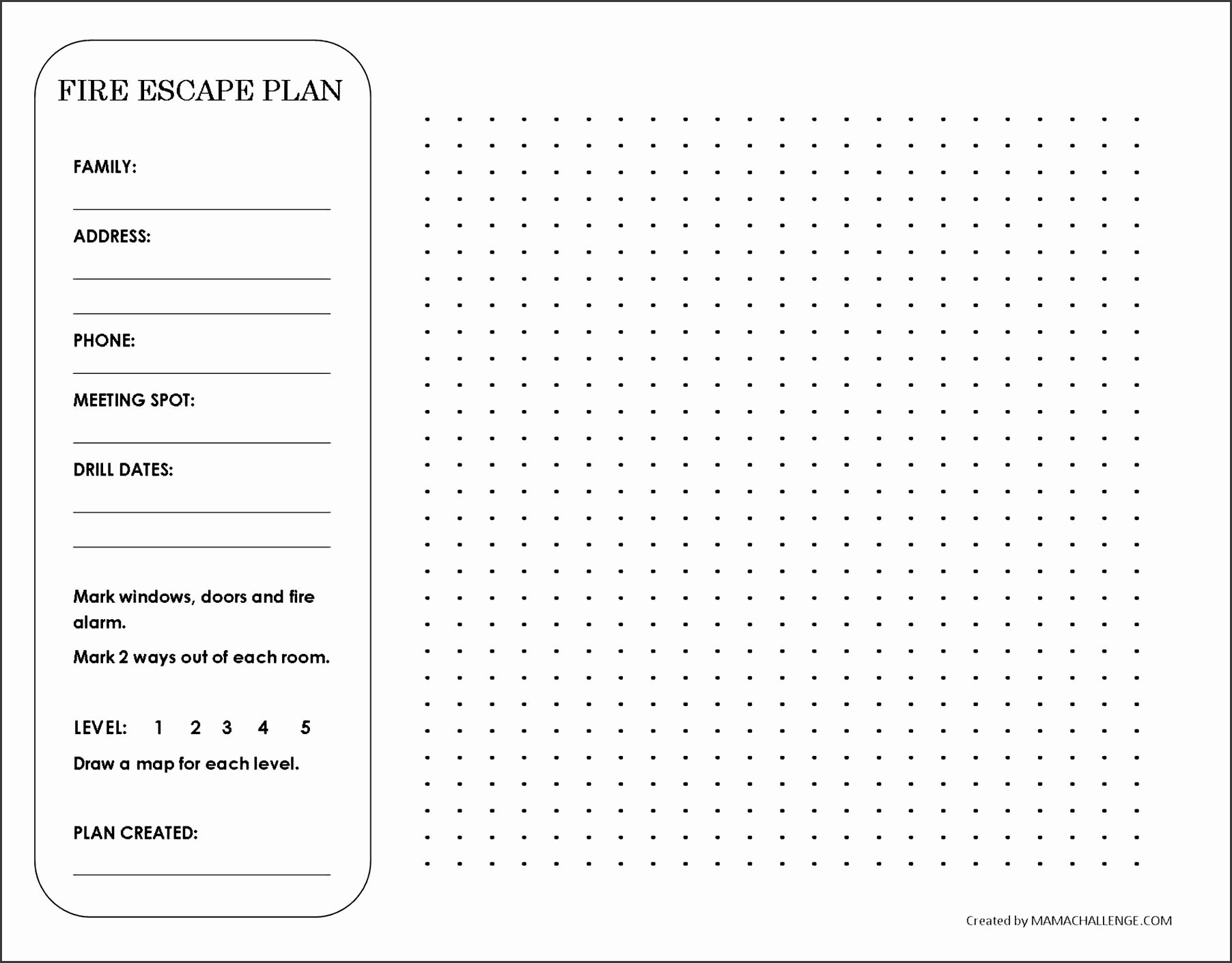Family Safety Plan Template Awesome 9 Family Emergency Plan In Excel Sampletemplatess