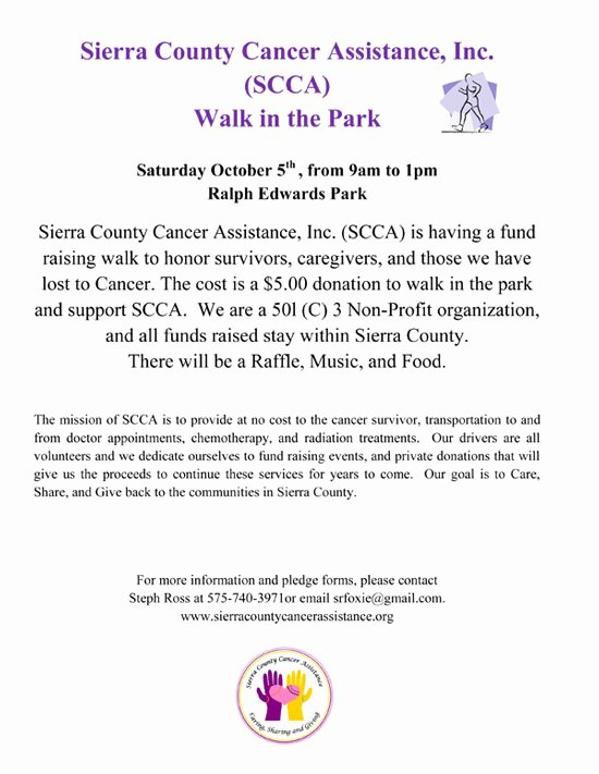 Fashion Show Sponsorship Letter Best Of Fund Raising events Sierra County Cancer assistance