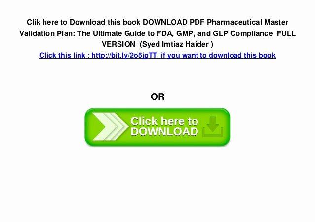 Fda Recall Plan Template Fresh Download Pdf Pharmaceutical Master Validation Plan the