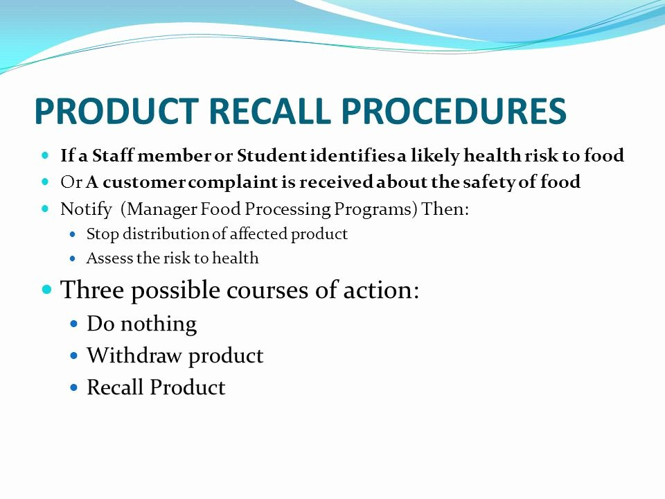 Fda Recall Plan Template Inspirational Product Recall Process Flowchart Flowchart In Word