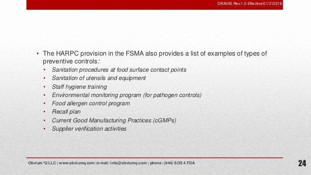 Fda Recall Plan Template Luxury foreign Supplier Verification Programs [fsvp]