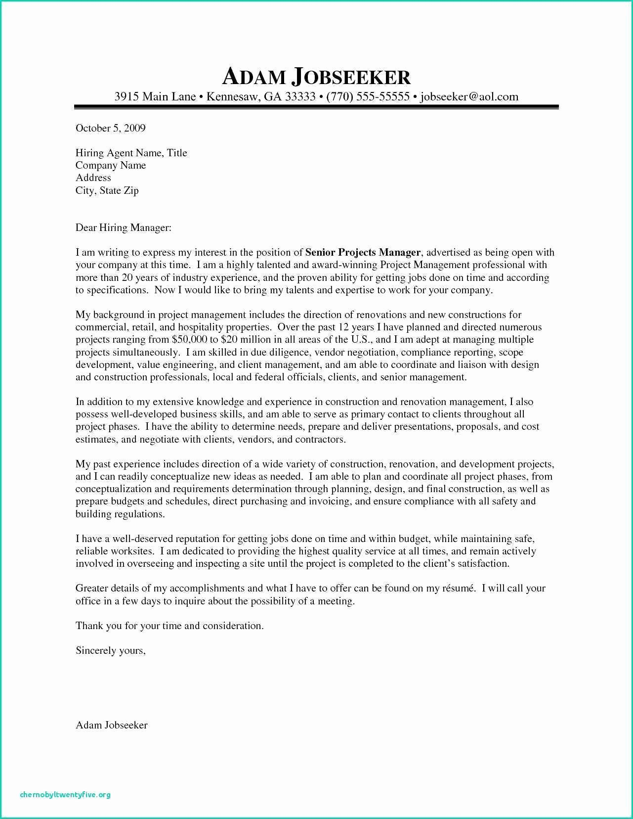 Fema Appeal Letter Template Beautiful Fema Cover Letter Senior Executive Cover Letter Account